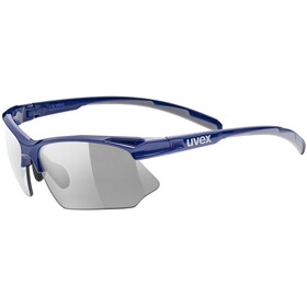 UVEX Sportstyle 802 V Glasses, blue grey/smoke